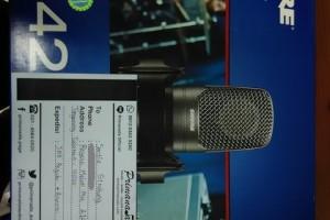 [08-02-2017] Mik Recording Shure ini siap untuk menangkap suara indah di Tangerang