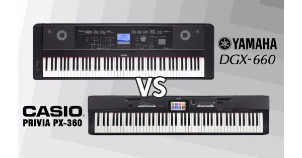 Review digital piano terbaik yamaha dgx 660 dan casio px for Yamaha dgx 660 review