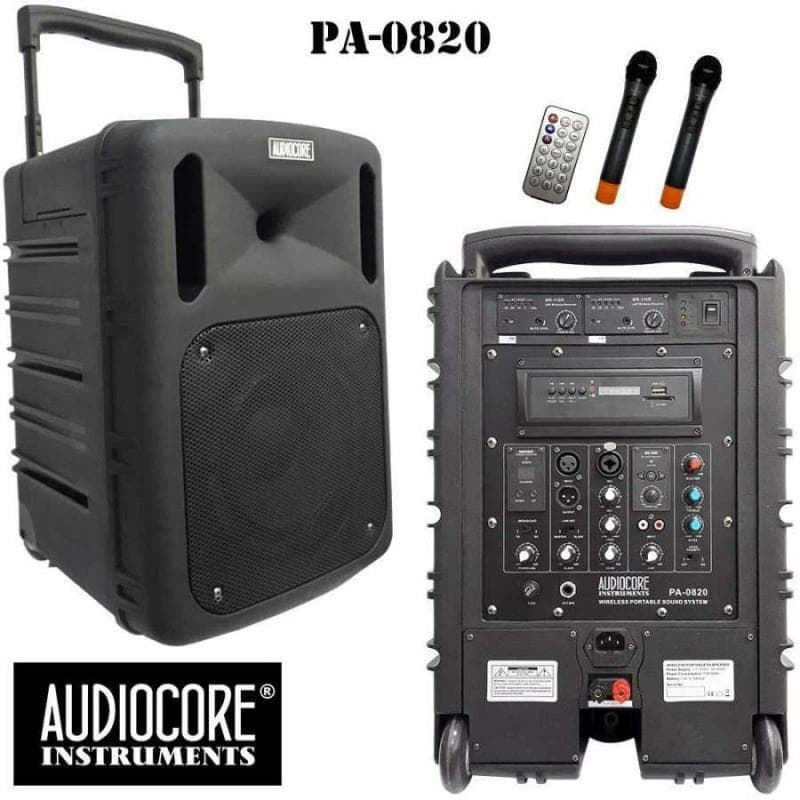Jual Portable Amplifier Audiocore PA-0820 Harga Murah