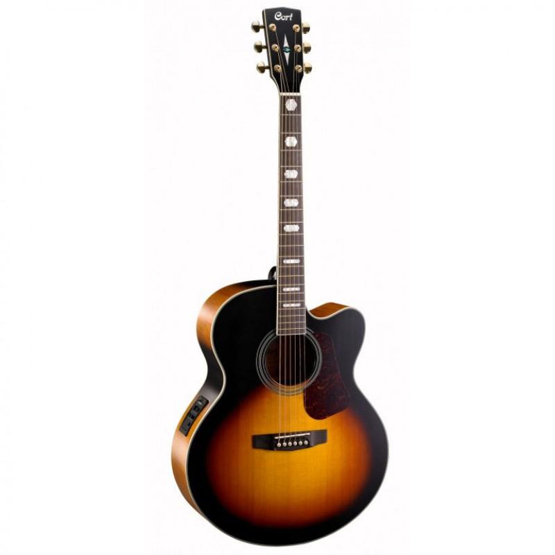 Jual Gitar Jumbo Cort CJ3V