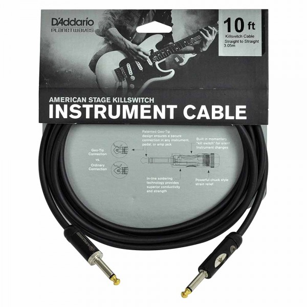 D'Addario Planet Waves PW-AMSK 10 American Stage
