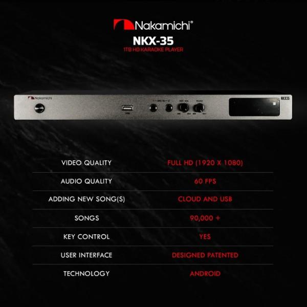 Nakamichi NKX-35