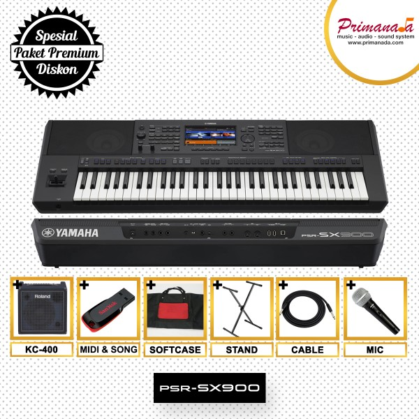 Paket Keyboard Yamaha Premium