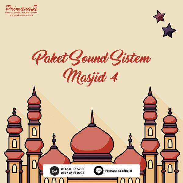 Paket Masjid 4