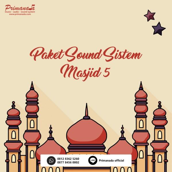 Paket Masjid 5