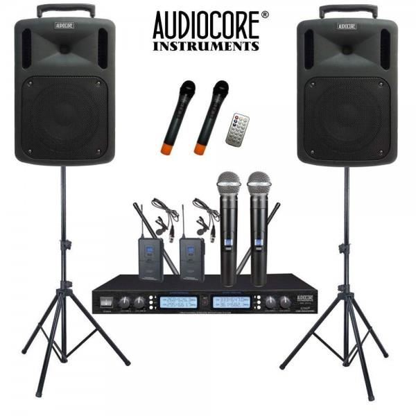 Paket Sound System Portable Wireless Audiocore