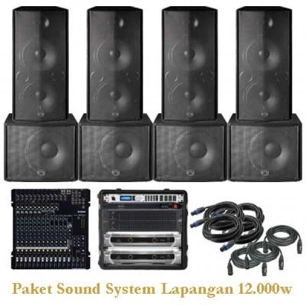 Paket Sound System Outdoor 3