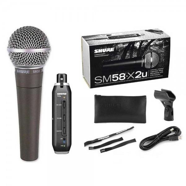Shure SM58+X2U